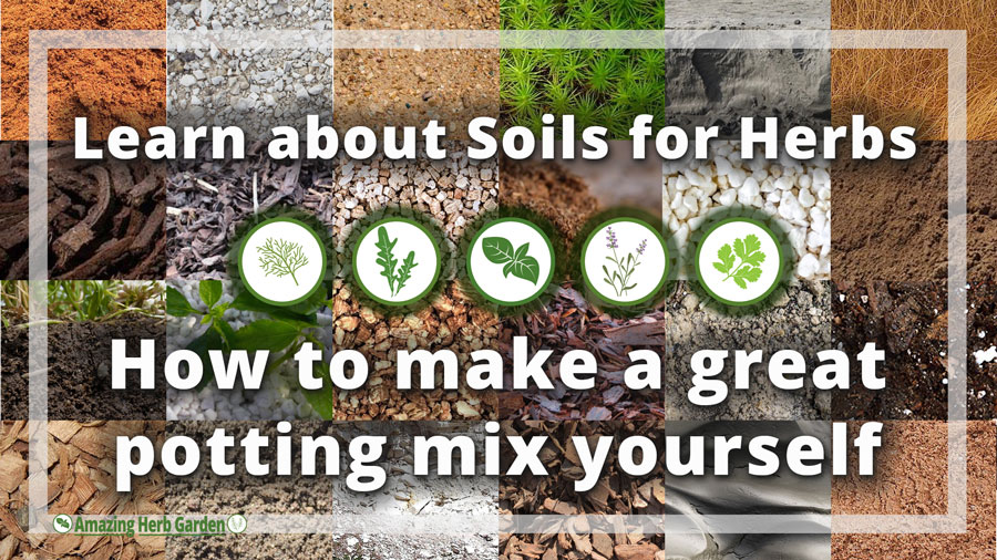 Soil For Herbs All Components